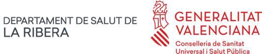 Departamento de Salud de La Ribera Logo