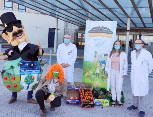 Carrefour e Interpreta Natura donan más de 300 kilos de fruta y verdura ecológica al Hospital de la Ribera