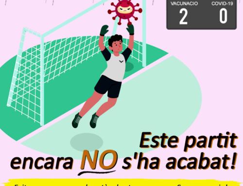 El Departamento de Salud de la Ribera pone en marcha una campaña de concienciación para evitar una nueva ola de coronavirus