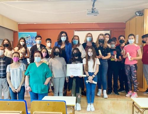 El Centro de Salud Pública de Alzira previene el tabaquismo entre los escolares de la Ribera
